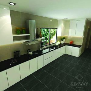 Black Galaxy Kitchen Top
