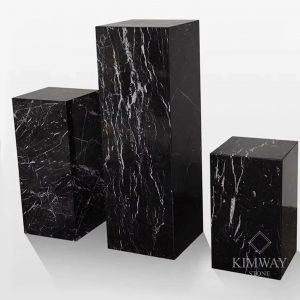 Black Marquina Rectangle Stand