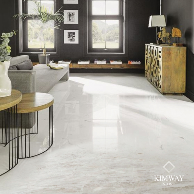 Volakas White Flooring