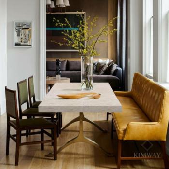 Desert Rose Rectangle Dining Table