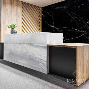 Grigio Calacatta Reception Counter