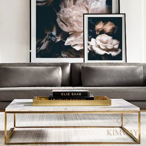 Silver Grey coffee table