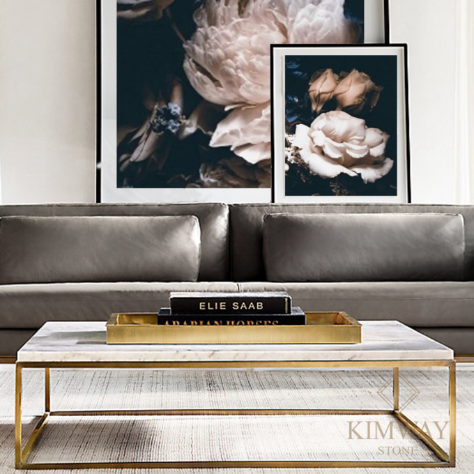 KSM2005 Silver Grey coffee table