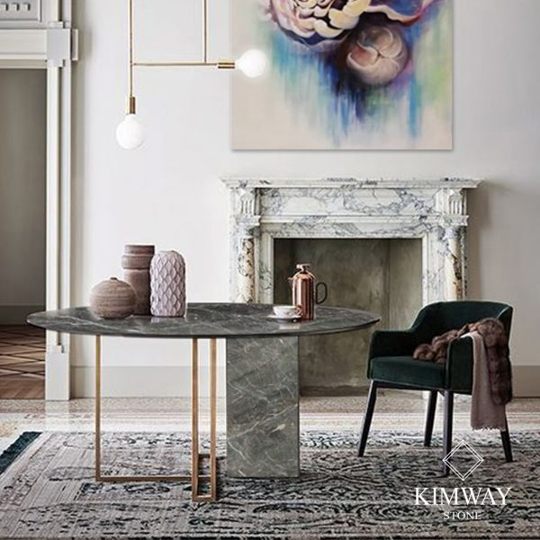 KSM2010 Pascal Grey dinning table