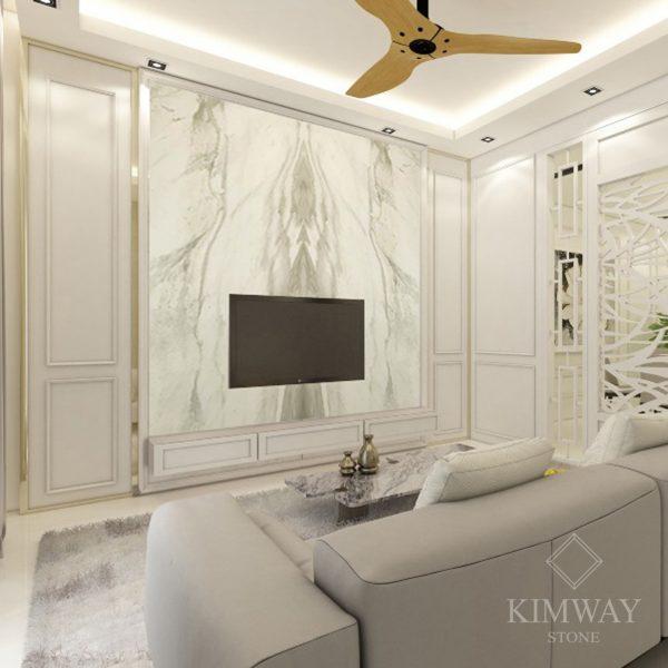 volakas white tv wall