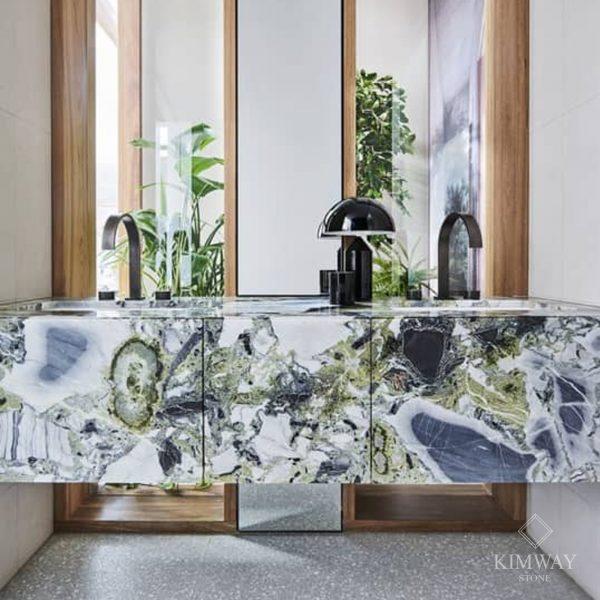 KSM6002 Vera Ice Jade bathroo countertop