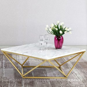 Volakas White Coffee Table
