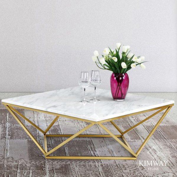 KSM6003 Volakas white coffe table 1