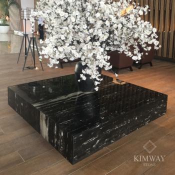 Silver Dragon Rectangle Coffee Table
