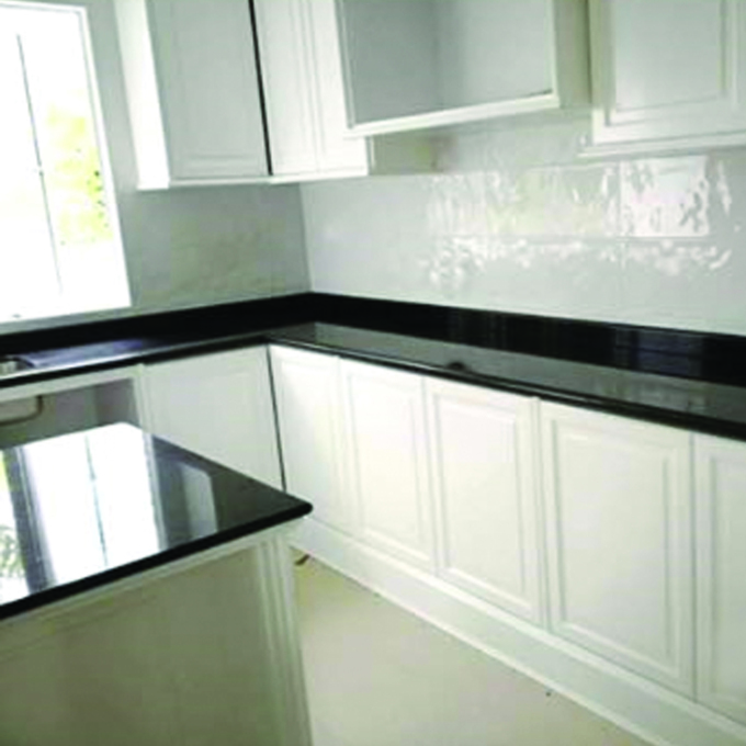 Black Galaxy Kitchen Top & Island