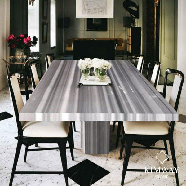 Ruler White Rectangle Dining Table