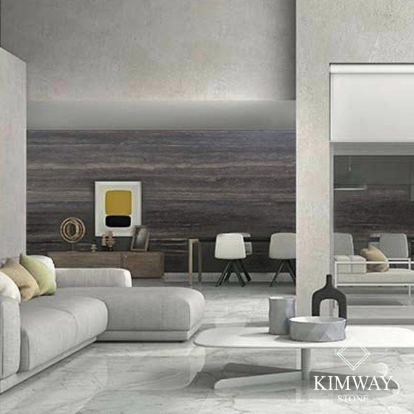 KSM3002 Travertine Silver wall