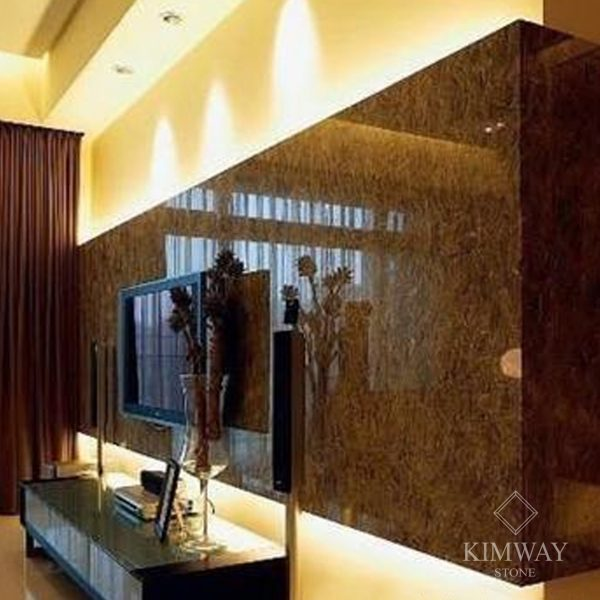 KSM3003 Dark Emperador TV Wall
