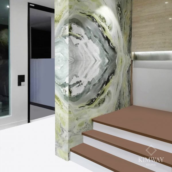 KSM6001 Vera Ice Jade feature wall 2